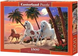 Puzzle 1500 Castorland C-151691 Białe Konie