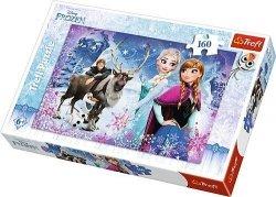 Puzzle 160 Trefl 15344 Frozen - Zimowe Przygody