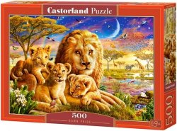Puzzle 500 Castorland B-52134 Rodzina Lwów