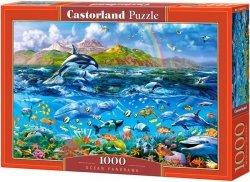 Puzzle 1000 Castorland C-104017 Życie w Oceanie