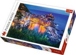 Puzzle 2000 Trefl 27086 Vernazza o Zmroku