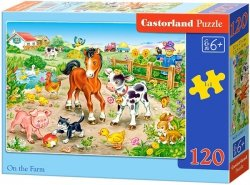 Puzzle 120 Castorland B-13197 Zwierzęta na Farmie