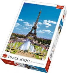 Puzzle 2000 Trefl 27051 Wieża Eiffla