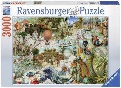 Puzzle 3000 Ravensburger 170685 Oceania