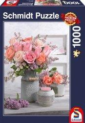 Puzzle 1000 Schmidt 58314 Rustykalne Róże