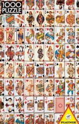 Puzzle 1000 Piatnik P-5437 Karty