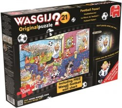 Puzzle 2x1000 Jumbo 17408 Gorączka footballowa Wasgij 21