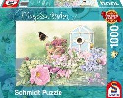 Puzzle 1000 Schmidt 59570 Marjolein Bastin - Motylek - Letnia Rezydencja