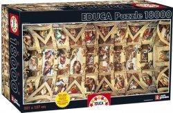 Puzzle 18000 Educa 16065 Kaplica Sykstyńska