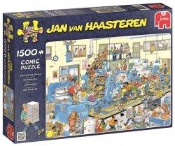 Puzzle 1500 Jumbo 19039 Jan van Haasteren - Drukarnia
