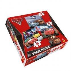Puzzle 3w1 Trefl T-34073 Cars 2 - Auta