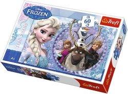 Puzzle 60 Trefl 17275 Przyjaciele z Krainy Lodu