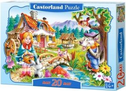 Puzzle 20 Maxi Castorland C-02160 Czerwony Kapturek