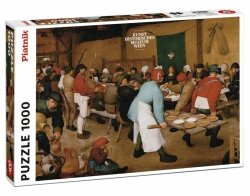 Puzzle 1000 Piatnik P-5483 Brueghel Chłopskie Wesele