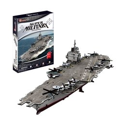 Puzzle 3D CubicFun 121 USS Enterprise Aircraft Carrier - P677h