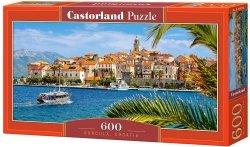 Puzzle 600 Castorland B-060238 Korcula - Chorwacja