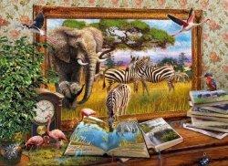 Puzzle 1000 Clementoni 39296 Zwierzęta Afrykańskie