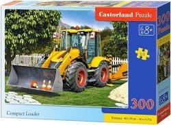 Puzzle 300 Castorland B-030064 Spychacz - Compact Loader