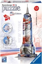 Puzzle 3D 216 Ravensburger 125838 Flag Edition - Empire State Building