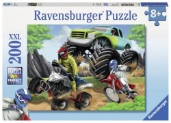 Puzzle 200 Ravensburger 128211 Pojazdy
