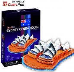 Puzzle 3D CubicFun 58 Opera w Sydney - C067h