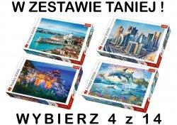 PUZZLE 2000 TREFL ! ZESTAW 4 z 14 DO WYBORU !
