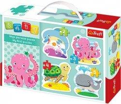 Puzzle Baby Classic Trefl T-36055 W głębinach