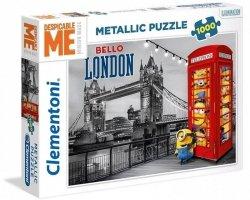 Puzzle 1000 Clementoni 39412 Minionki Metallic