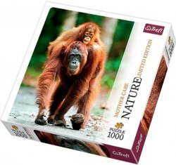 Puzzle 1000 Trefl 10514 Nature - Orangutan - Małpy