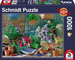 Puzzle 1000 Schmidt 58313 Na Ogrodowym Stole
