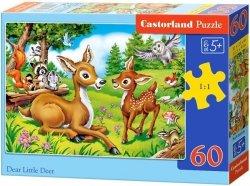 Puzzle 60 Castorland B-066049 Sarenki