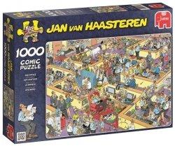 Puzzle 1000 Jumbo 17014 Rozgardiasz w Biurze - Jan van Haasteren