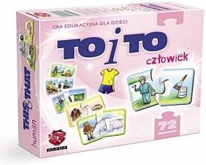 ! Puzzle Układanka Gra Edukacyjna Maxim To i To  Człowiek G72.01.01