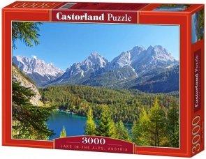 Puzzle 3000 Castorland C-300242 Lake - in - the - Alps - Austria