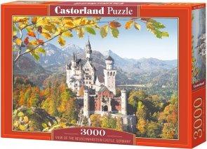 Puzzle 3000 Castorland C-300013 Viev of the Neuschwanstein Castle, Germany