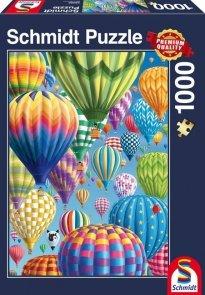 Puzzle 1000 Schmidt 58286 Kolorowe Balony