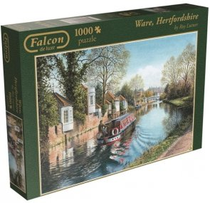 Puzzle 1000 Jumbo 11063 Falcon - Lutner - Ware Hertfordshire