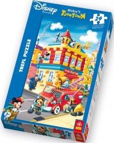 Puzzle 24 Maxi Trefl 14083 Myszka Miki - Straż Pożarna