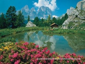 Puzzle 3000 Ravensburger 170241 Dolomity - Włochy
