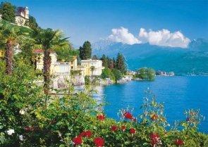 Puzzle 1500 Ravensburger 162536 Jezioro we Włoszech