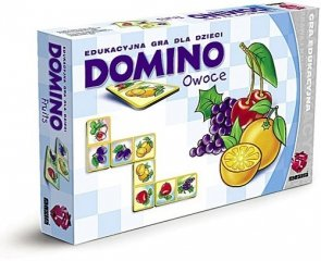 ! Gra Edukacyjna Maxim - Domino - Owoce - G28.01.04