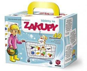 ! Puzzle Gra Układanka Maxim - Idziemy na Zakupy - G40.02.01