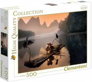 Puzzle 500 Clementoni 35022 Starzy Rybacy