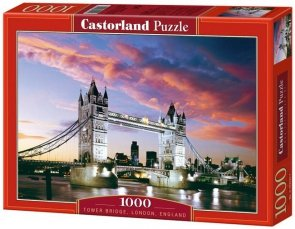 Puzzle 1000 Castorland C-101122 Tower Bridge, London, England