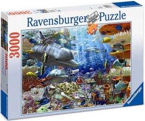 Puzzle 3000 Ravensburger 170272 Życie Pod Wodą