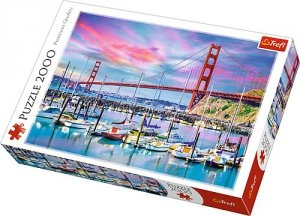 Puzzle 2000 Trefl 27097 San Francisco - Golden Gate