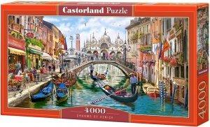 Puzzle 4000 Castorland C-400287 Uroki Wenecji