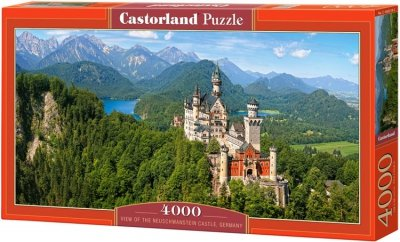 Puzzle 4000 Castorland C-400218 Viev of the Neuschwanstein Castle - Germany