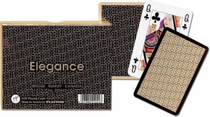 Karty do Gry Piatnik 2 Talie 2224 Elegance