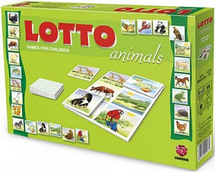 ! Gra Edukacyjna Maxim Lotto Animals - Zwierzęta G24.01.04